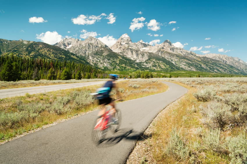 bicycling grand teton national park