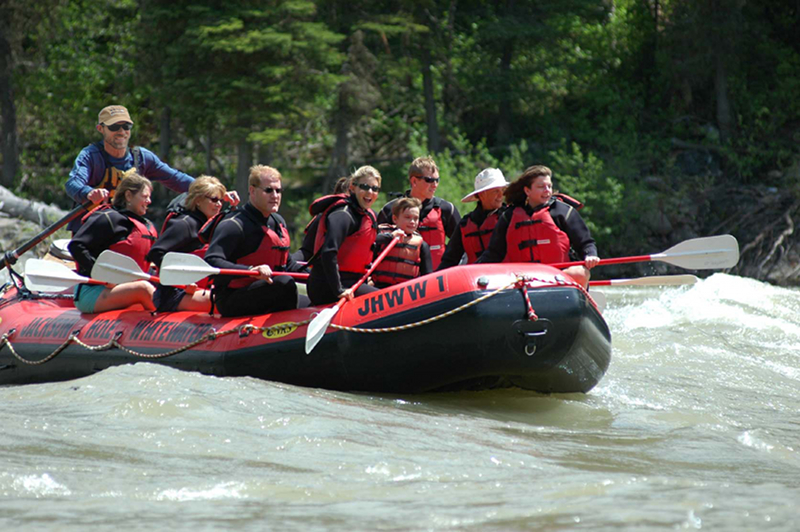 Jackson Hole Whitewater Package