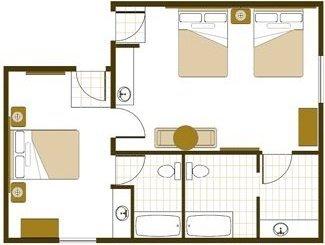 floorplan - 3 queen